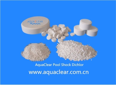 Sodium Dichloroisocyanurate (SDIC) Pool Shock Dichlor 56% 60% Powder Granular Tablet