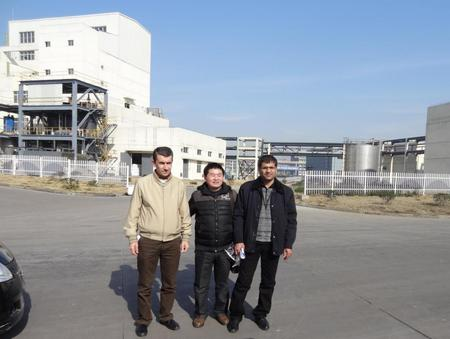 Officials from Iraqi Health Department visited AquaClear in Factory