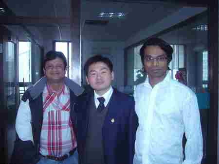 Clients from Sinha Group Bangladesh, the largest texile company in Bangladesh