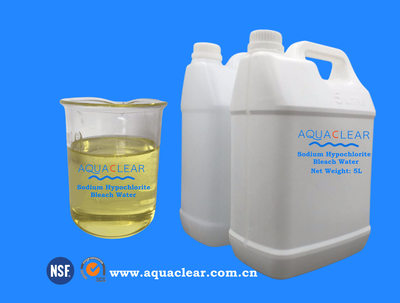 Sodium Hypochlorite Bleach Water  Super Shock Liquid Chlorine 10% 13% 15%