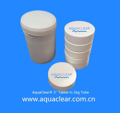 AquaClear 3'' Tablet in 1kg tube