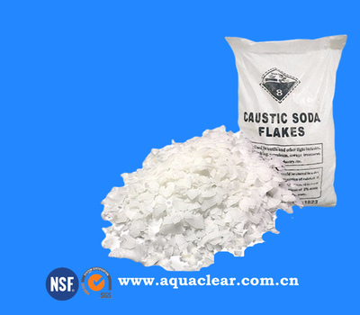 Caustic Soda Flakes / Pearls / Solid 99% NaOH Sodium hydroxide