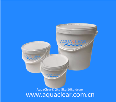 AquaClear® 2kg 5kg 10kg drum with handle